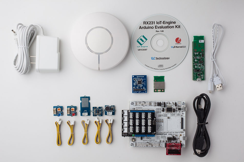ルネサスの「RX231 IoT-Engine」用「RX231 IoT-Engine Arduino Evaluation Kit」を販売開始